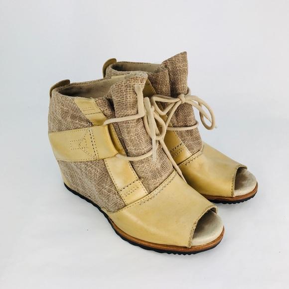 58e70172eff Sorel Women's 'Lake' Wedge Open ToeAnkle Boot 5.5